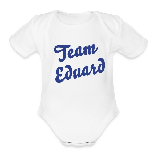 Team Ed Tot T - Organic Short Sleeve Baby Bodysuit