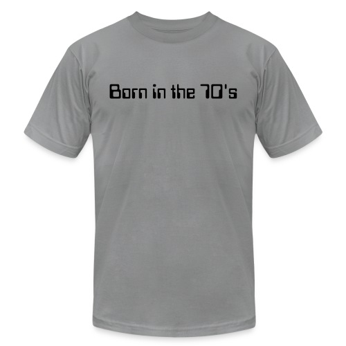 Born in the 70's 2 - Men's Fine Jersey T-Shirt
