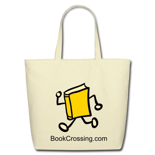 Back-to-Basics BookCrossing Tote - Eco-Friendly Cotton Tote