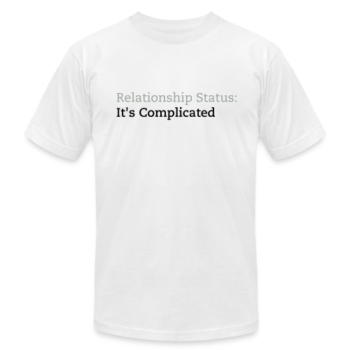 It's Complicated (MEN) (Wholesale) - Men's Fine Jersey T-Shirt
