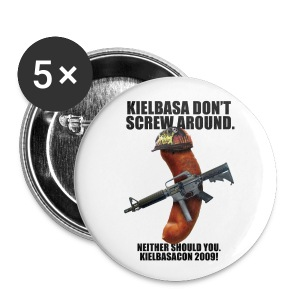 KielbasaCon 2009 Button (small) - Small Buttons