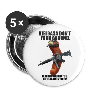 [R Rated] KielbasaCon 2009 Button (small) - Small Buttons