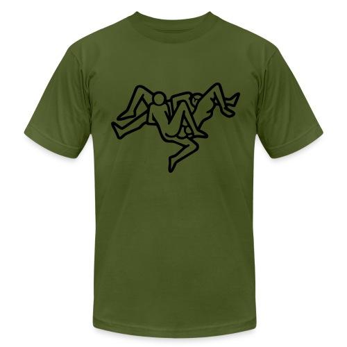 Triangle - Men's  Jersey T-Shirt