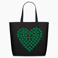 Black Shamrocks - St. Patrick Bags