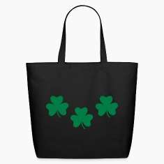 Black Shamrocks - St. Patricks Bags