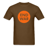 T-Shirts ~ Men's T-Shirt ~ End War Mens T-Shirts