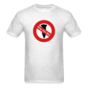Anti War - Stop Bombing Mens T-Shirt - Men's T-Shirt