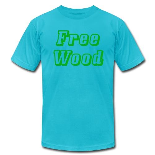 Free Wood - Men's Fine Jersey T-Shirt
