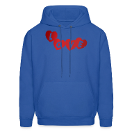 Hoodies ~ Men's Hoodie ~ Valentines day hoodie