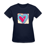 T-Shirts ~ Women's T-Shirt ~ Valentines day t-shirts