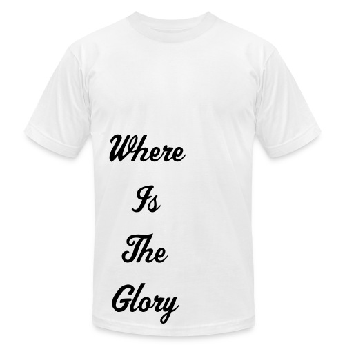 Where Is The Glory T Front - Men's Fine Jersey T-Shirt