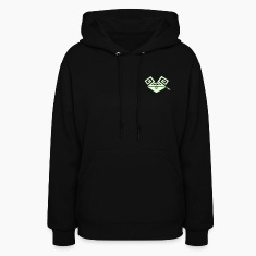 Black Psychedelic Rabbit (smoking a joint) Hoodies