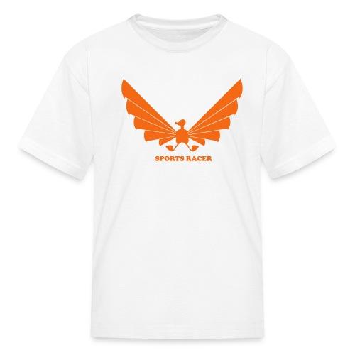 LOA - orange on white - Kids' T-Shirt