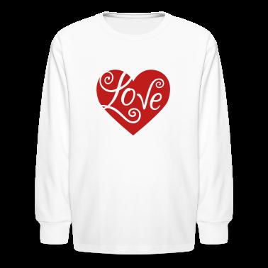 Gladditudes valentine love heart long sleeve shirt spreadshirt