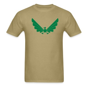 LOA - green on khaki - Men's T-Shirt