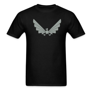 LOA - grey on black - Men's T-Shirt