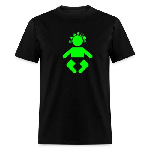 giant baby - green black - Men's T-Shirt