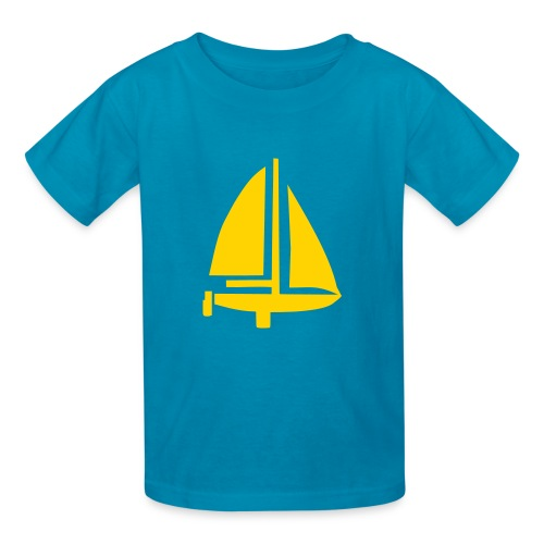 Sail Away Tee - Boys - Kids' T-Shirt