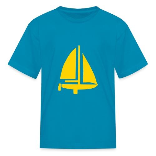 Sail Away Tee - Boys - Kids' T-Shirt