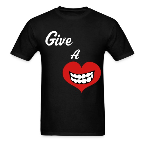 Give A Smile Save A Life Tee - Men's T-Shirt