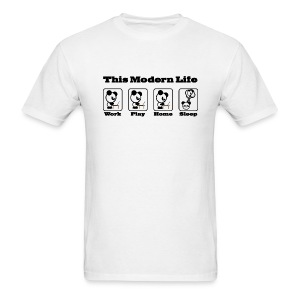 This Modern Life - Men's T-Shirt