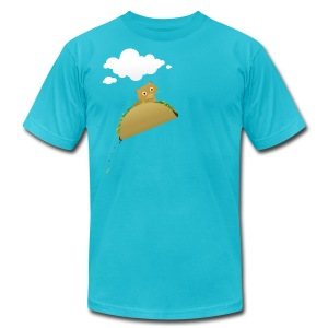 Bonky Taco - Men's T-Shirt by American Apparel