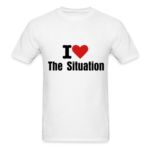 I love The Situation - Men's T-Shirt