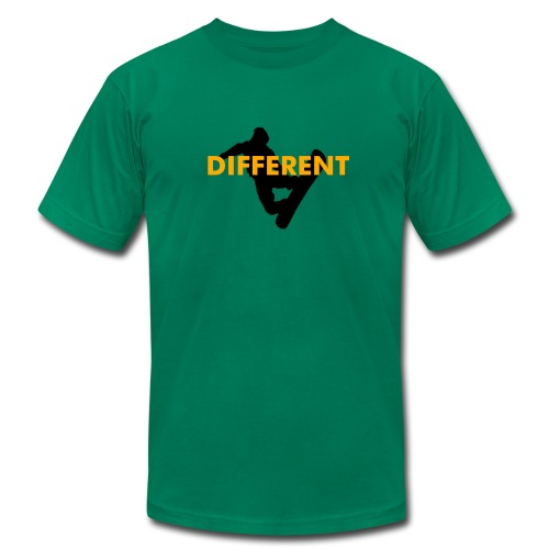 Snowboard - Different - Men's Fine Jersey T-Shirt