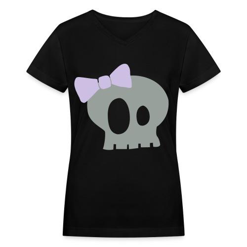 WOMENS - Women's V-Neck T-Shirt