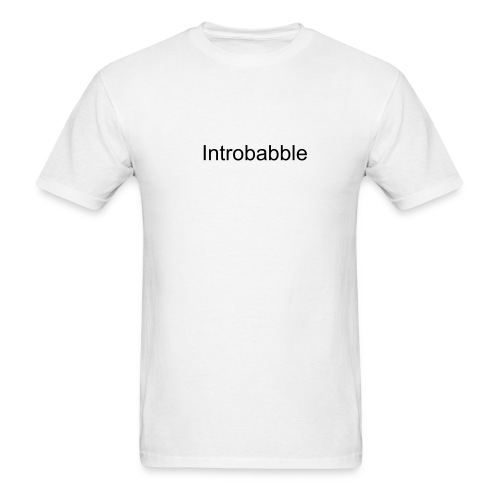 Introbabble/Outrobabble - Men's T-Shirt