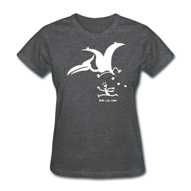 Deep heather Catastrophicus Pterodactylus Women's T-Shirts