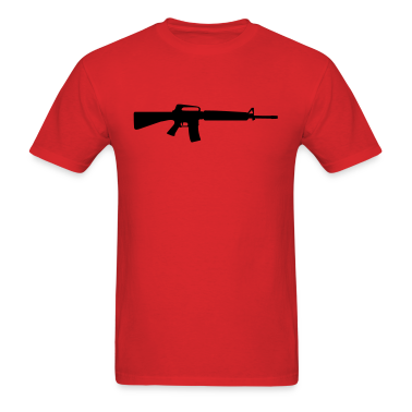 Red gun T-Shirts