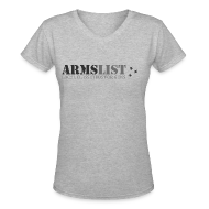 Women's T-Shirts ~ Women's V-Neck T-Shirt ~ Women's V-Neck T
