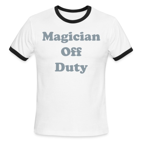 Magician off Duty T-Shirt - Men's Ringer T-Shirt