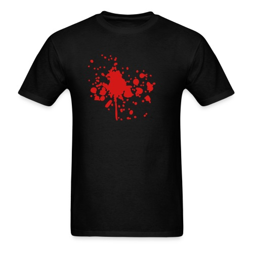 Blood Splatter Shirt - Men's T-Shirt