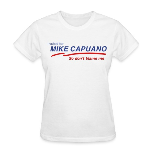 I Voted for Capuano -Women's T - Women's T-Shirt