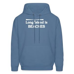 Long Island is Beaches - Men's Hoodie