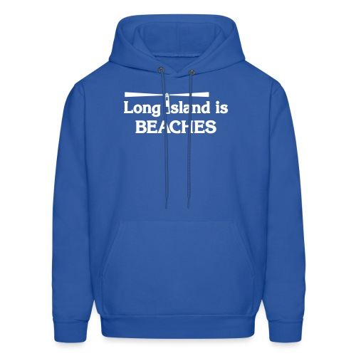 Long Island is Beaches - Men's Hoodie