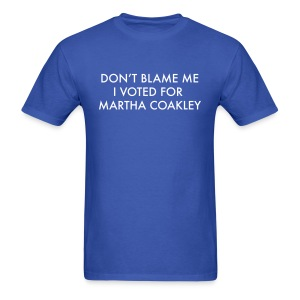 Don't Blame Me, I Voted for Coakley - Men's - Men's T-Shirt