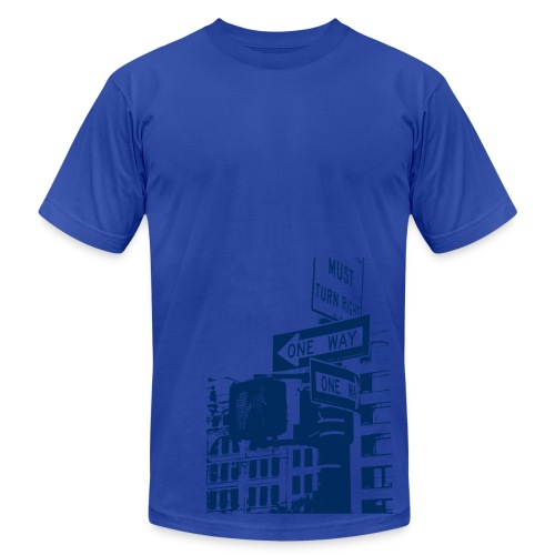 One Way - Men's  Jersey T-Shirt