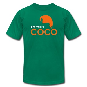 I'm With Coco - Sleeve Print - Men's T-Shirt by American Apparel