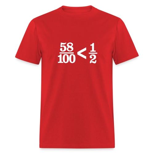 Filibuster Mathematics (standard weight) - Men's T-Shirt