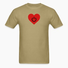 Khaki power of love v2 T-Shirts