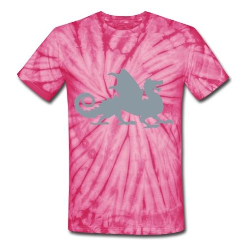 Silver reflective - Unisex Tie Dye T-Shirt