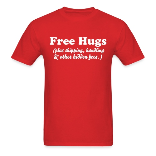 FREE HUGS! - Men's T-Shirt