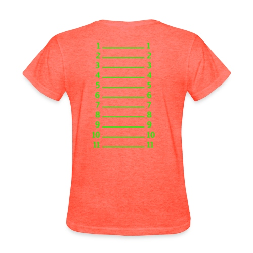 length check shirts - Women's T-Shirt