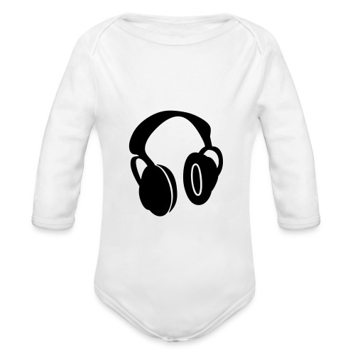 music - Organic Long Sleeve Baby Bodysuit