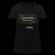 T-Shirts ~ Women's T-Shirt ~ WOMENS: You can't be a pirate if you haven't got a beard