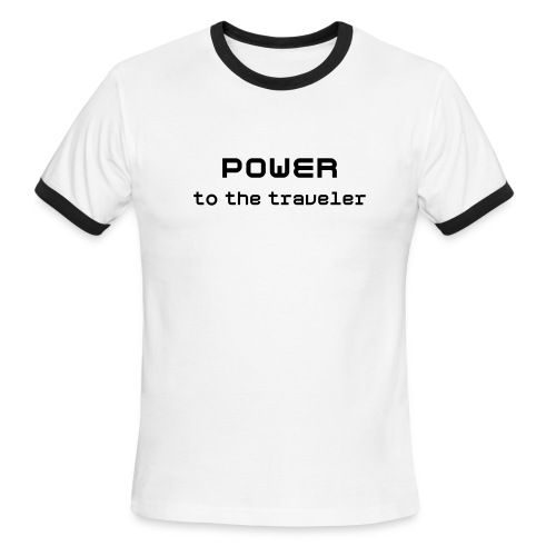 Power to the Traveler - Men's Ringer T-Shirt