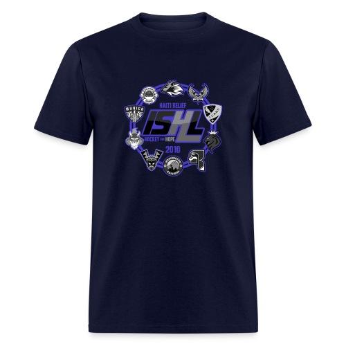 ISHL Supports Haiti T-Shirt 2 - Men's T-Shirt